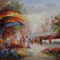 Foto van Bloemenmarkt