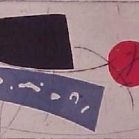 Foto van Abstrakt met blauw