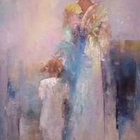 Foto van Moeder en kind