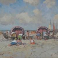 Foto van Strand parasols