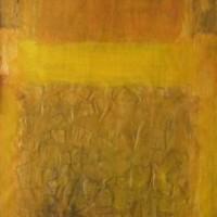 Foto van Compositie geel
