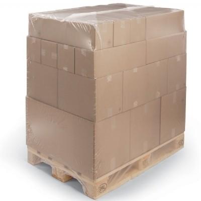 LDPE krimphoes transparant 130 x (2 x 52,5) x 155 cm