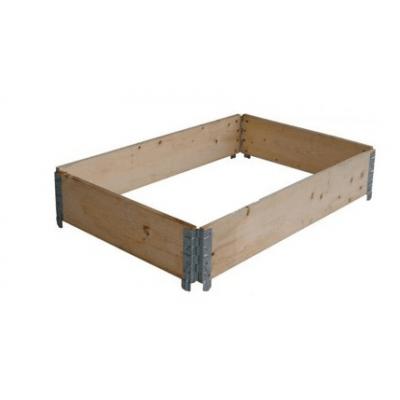 Pallet opzetranden gebruikt 80x120x20 cm