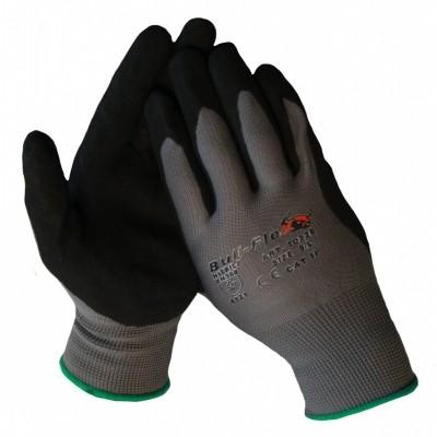 Werkhandschoen nylon met nitrile microfoam coating