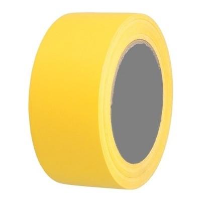 Vloermarkeringstape AT-8 geel 50mm x 33mtr.