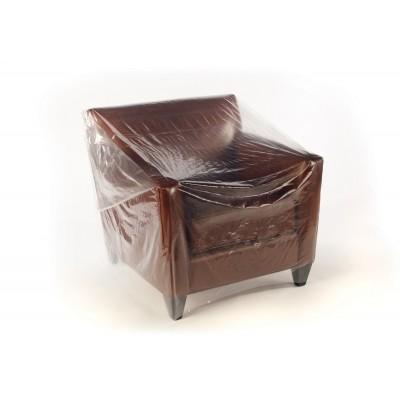 LDPE meubelhoezen transp. 200 x 130 cm 50 my