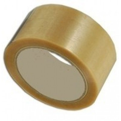 PP Hotmelt tape transparant 75mm x 66mtr.