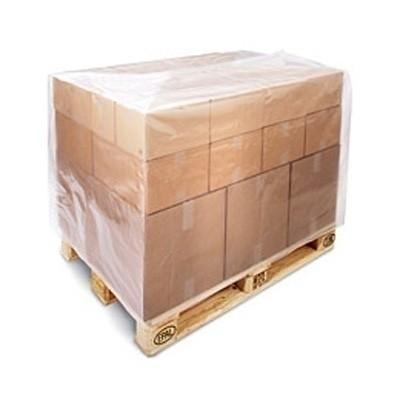 LDPE pallethoes transparant 100 x (2 x 30) x 190 cm