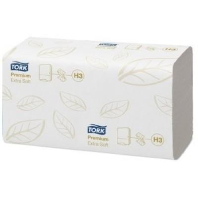 Afbeelding van Tork Premium Hand Towel ZigZag C fold 230 x 230 mm