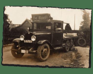 de Boer Vrachtbescherming geschiedenis