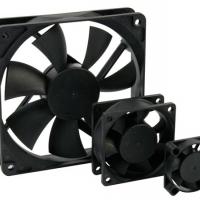 Foto van VENTILATOR 12VDC GLIJLAGER 80 x 80 x 25mm