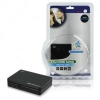 Foto van Hoge kwaliteit 4-poorts HDMI schakelaar met 3D ondersteuning