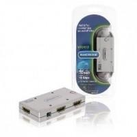 Foto van 2-Poorts Ultra HD HDMI Schakelaar Zilver
