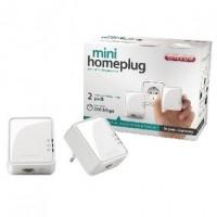 Foto van Mini homeplug 500 Mbps dual pack