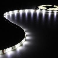 Foto van FLEXIBELE LED STRIP - KOUD WIT - 150 LEDs - 5m - 12V