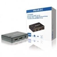 Foto van 4-Poorts HDMI Schakelaar Zwart
