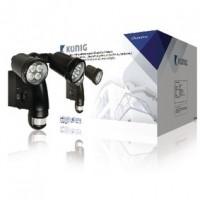 Foto van Buitenlamp met geïntegreerde camera en bewegingssensor