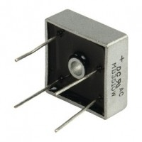 Foto van Bridge rectifier square wire