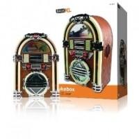 Foto van Retro jukebox met AM / FM radio en CD-speler