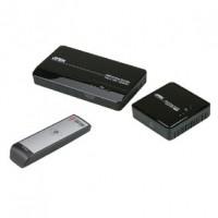 Foto van HDMI Extender 2x HDMI-Ingang - HDMI-Uitgang Zwart