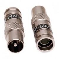 Foto van IEC connector RG6