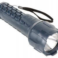 Foto van RUBBEREN LED-ZAKLAMP - 3W CREE LED - 100lm