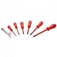 Foto van 7 VDE screwdriver set AC1000 V