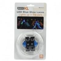 Foto van LED schoenveters blauw