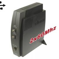 Foto van 2-KANAALS PC OSCILLOSCOOP MET USB INTERFACE
