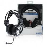 Foto van Stereo headset met USB & basvibratiefunctie