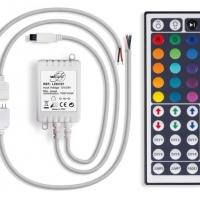 Foto van RGB LED-CONTROLLER MET AFSTANDSBEDIENING (44 KNOPPEN)