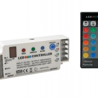 Foto van RGB LEDCONTROLLER MET IR AFSTANDSBEDIENING