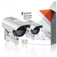 Foto van CCTV dummy solar buitencamera