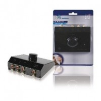 Foto van 3-weg stereo input uitbreider