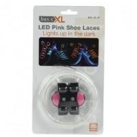 Foto van LED schoenveters roze