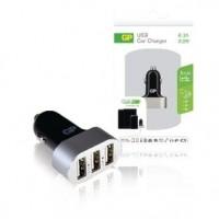 Foto van Triple port USB car charger 6.3 A