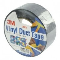 Foto van Scotch duct tape 2000 50 mm 50 m zilver