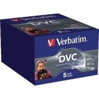 Foto van Digital Video Cassette 60 minuten 5-Pak