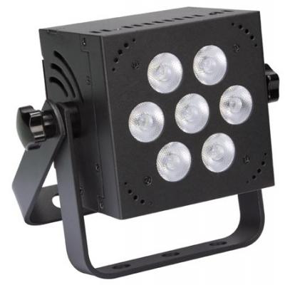 MINI LED-PAR - 7 x 8 W RGB - VIERKANT