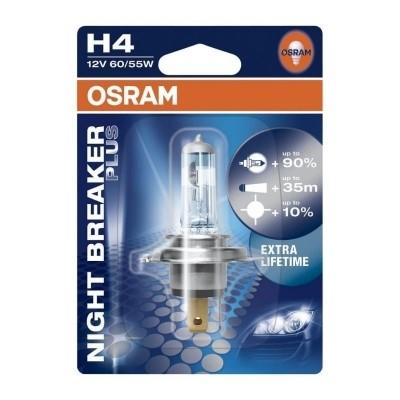 Osram Night Breaker Plus H4