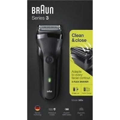 Shaver Series 3 300 Black