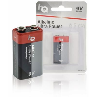 Alkaline 9V-batterijen