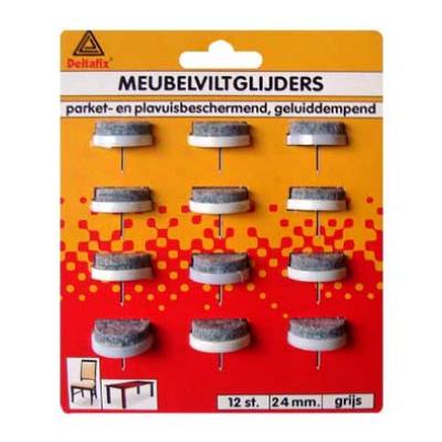 MEUBELVILTGLIJDERS 24mm.