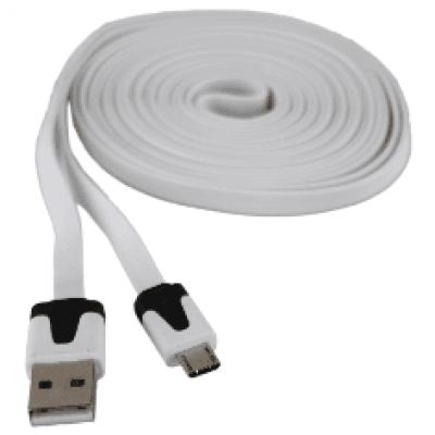 Micro USB datakabel plat
