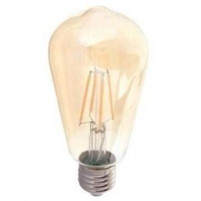 LED filament rustika E27 warm wit 8 Watt