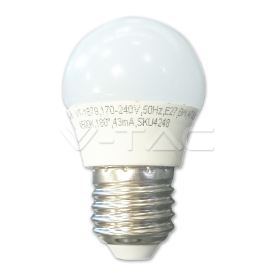 LED Kogel 5.5=40W E27