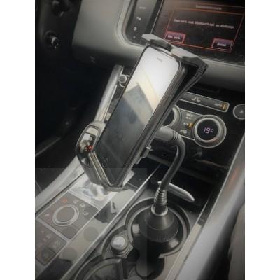Smartphone/Tablet houder (klem) in bekerhouder