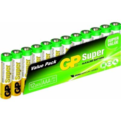 Gp super alkaline 12XAAA