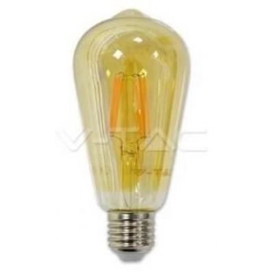 LED filament rustika E27 WW 4 Watt