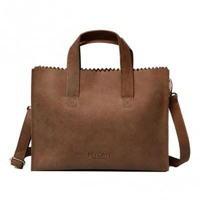 MYOMY MY PAPER BAG HANDBAG CROSS-BODY HUNTER ORIGINAL - TAS
